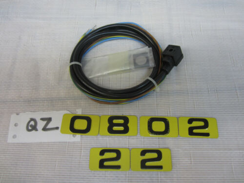 Parker DIN Connector & Cable for solenoid