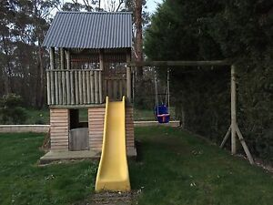 Awesome Kids Playground Cubby Slide Swing Set Lysterfield South Casey Area Preview