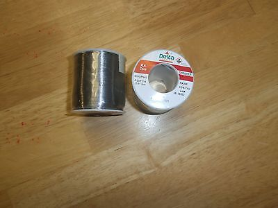 Lot2 Rosin Core 1 Lb Roll Solder 6040-.032qualitek Ra3003.3 Fluxnew