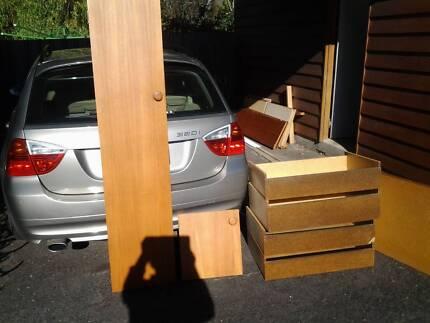 Wardrobe doors shelving etc & Two Door Wardrobe | Wardrobes | Gumtree Australia Devonport Area ...