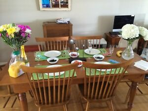 Harvest Table & Chairs For Sale