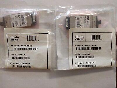 Cisco ONS-GX-2FC-MMI 10-2015-01 WMOTAEJAAA - LOT OF 2 - (* We also buy Cisco! *)
