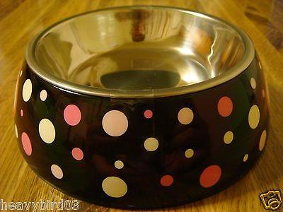 #108  HIDDEN DIVERSION SECRET SAFE SMALL DOG, CAT BOWL METAL PAN & COVER CAN!