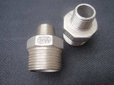 Stainless Steel Reducer Nipple 1 X 12 Npt Pipe Rn-100-050