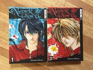 Never Give Up (Vol 1 & 2) Manga