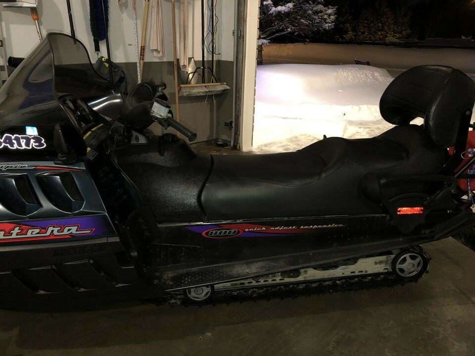 Listing Item Make Arctic Cat Model 1999 Pantera 800 Triple