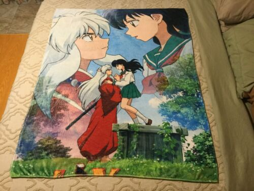 "Inuyasha Soft Plush Throw Blanket 47"" x 60"" Free Shipping"