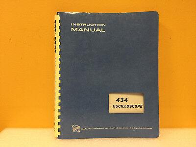 Tektronix 070-1131-00 434 Oscilloscope Instruction Manual