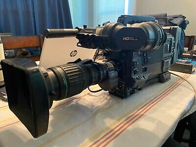 Used, Panasonic AJ-HDX900 DVCPRO HD Professional Camcorder + Lens+ ViewFinder+ Battery for sale  Shipping to India