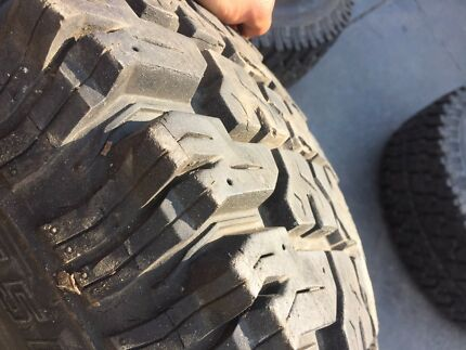 Wanted: 31 inch mud tyres