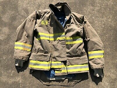 Morning Pride Fire Fighter Turnout Jacket 42 2935 34 Bunker Gear 2766