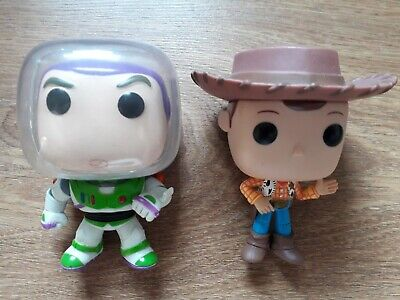 Toy Story (Woody & Buzz Lightyear) loose Funko Pop! Vinyl bundle