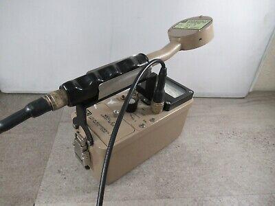 Ludlum Model 2 Gieger Counter Scintillator 44-9 Flat Radiation Detector 3666c