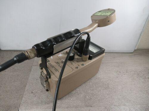 Ludlum Model 2 Gieger Counter Scintillator 44-9 Flat Radiation Detector #3666C