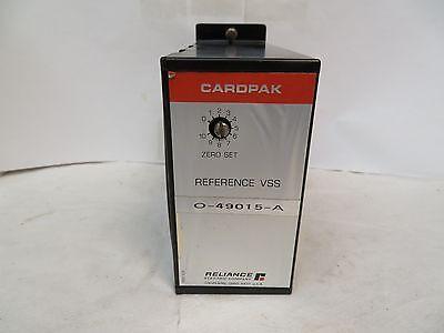 Reliance Electric 0-49015-a Reference Vss Cardpak