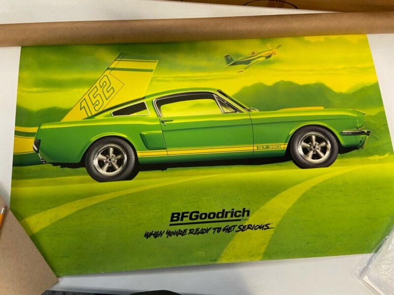 Ford Mustang Shelby GT350 BF Goodrich Poster