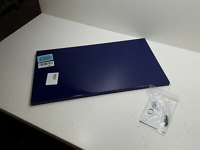Steelmaster Magnetic Board With Dry-erase Pad Pen And Magnets 14 X 25 Blue