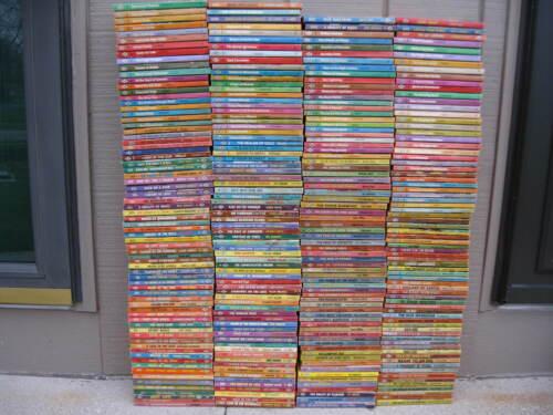 Large Lot 284 Vintage Harlequin Romance PB Books Good Solid Condition