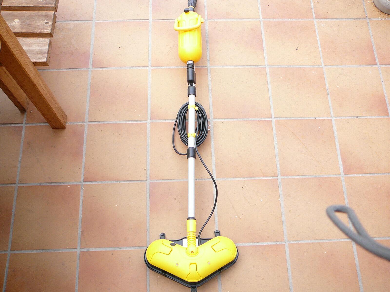 Gleit+Steam Mop Wischmop Dampfmop-Dampfreiniger wie neu !