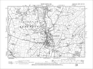 Egremont, Old Map Cumberland 1900: 72NE