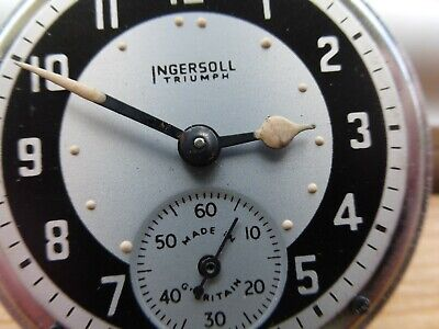 Ingersoll triumph pocket watch good working condition