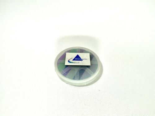 Mikropack Wafer for Measuring Thin Films Film - Thickness standard w/ 6 sizes