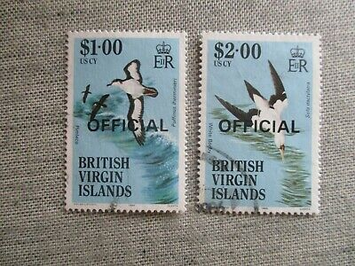Virgin Islands, Scott#O31-O32, used