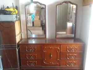 Dressing Table & 2 bedsides & 2 mirror(Italian style solid wood) Mount Lewis Bankstown Area Preview
