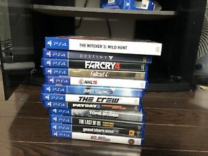 All ps4 games $20 each