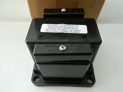 New Instrument Transformers 460-415 Potential Transformer Ratio 3.461 415v 120v