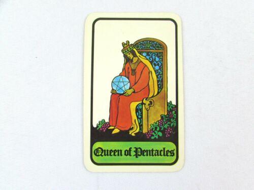 Vintage 1972 Hoi Polloi Tarot *Single Replacement Card* Queen of Pentacles