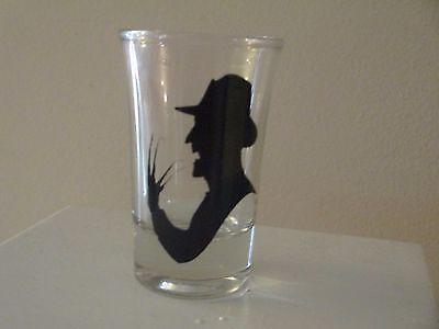 Freddy Krueger Nightmare on Elm Street Horror Halloween Shot Glass Alcohol](Halloween Alcoholic Shots)