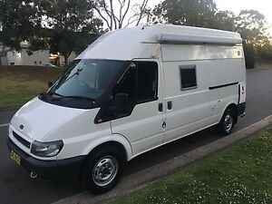Ford transit 2005 high roof turbo diesel camper van manual Beaumont Hills The Hills District Preview