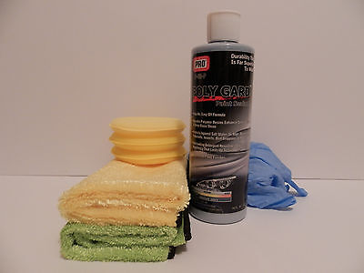 PRO Poly-Gard Paint Sealant better than CAR WAX 16oz. Don't pay $600 ! USA!