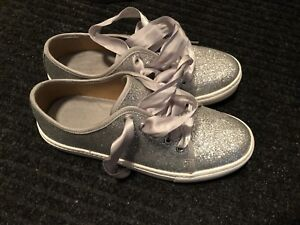 Silver Sparkly Shoes Women's Size 7