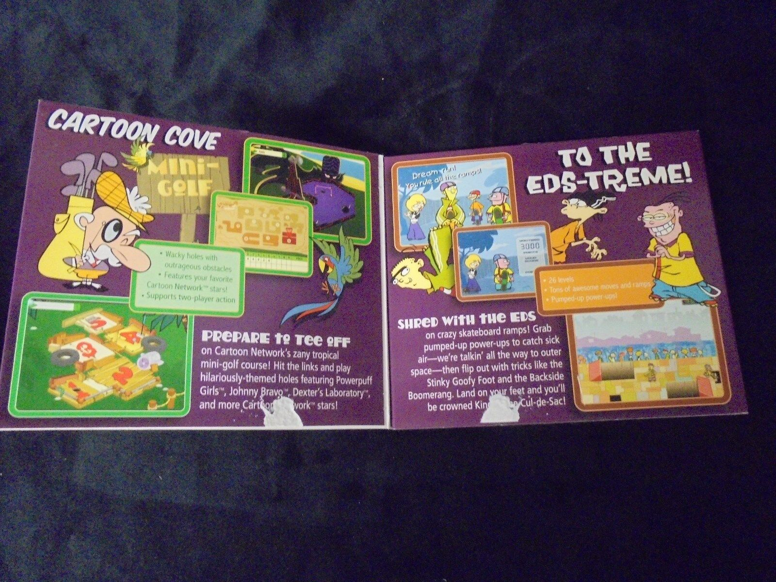 Cartoon Network Pc Cd Rom Quot Cartoon Cove Amp To The Eds Treme