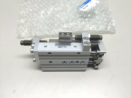 SMC MXQ16-30B MXQ Pneumatic Cylinder Guided Slide Table