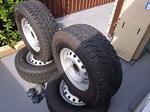 Yokohama Geolander All Terrain tyres in 265/70 R16 x4 with 6stud Greenacre Bankstown Area Preview