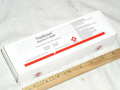 6 New Sealed Tosoh Toyoscreen Gigacap S-650m Liquid Chromatography 21869 5ml Usa