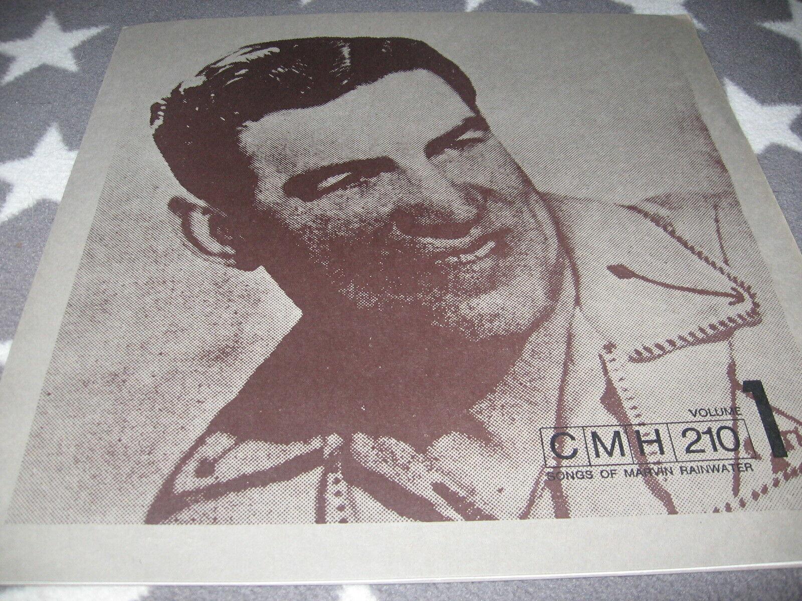 LP - Marvin Rainwater - Songs of M.R. Vol. 1 / CMH 210