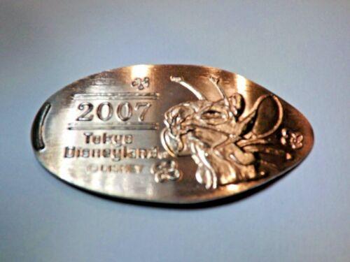 2007 DISNEYLAND STITCH TOKYO JAPAN RETIRED-Elongated / Pressed Nickel T-875