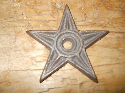 Architectural Star - 12 Cast Iron Stars Architectural Stress Washer Texas Lone Star Rustic Ranch