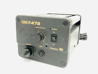 Hakko 472-1 Model 472 Iron Soldering Desoldering Rework Station