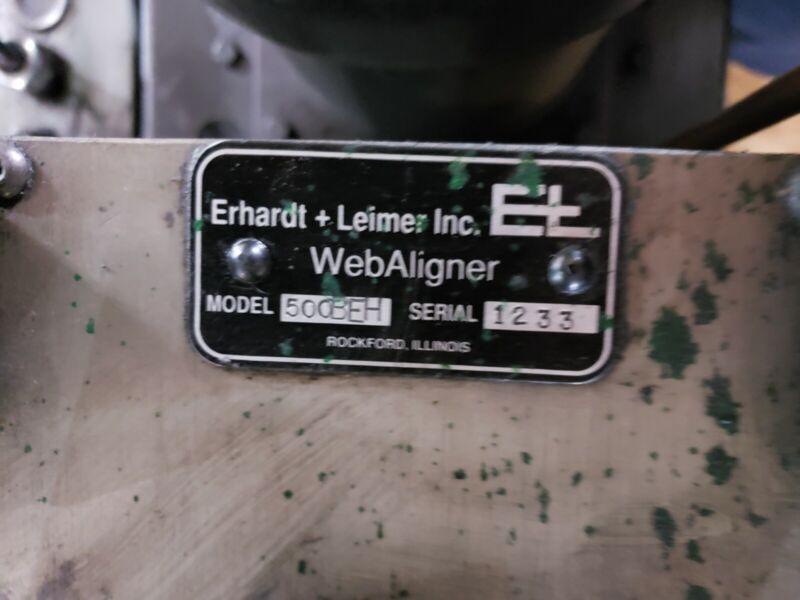 Erhardt + Leimer WebAligner Model: 500BEH