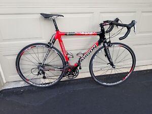Argon 18 Krypton carbon road bike, 58cm, 27 speed, Fulcrum Racing, Shimano 105