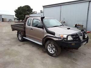 2005 Toyota Hilux Ute SR 4x4 x-cab Alice Springs Alice Springs Area Preview