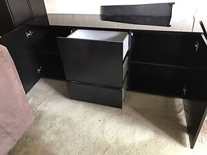 Black Chest of Drawers Drummoyne Canada Bay Area Preview