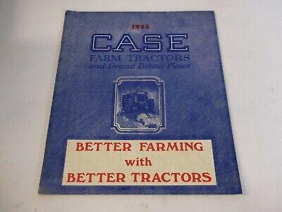 1921 Case Farm Tractors Grand Detour Plows Better Farming W Better Tractors