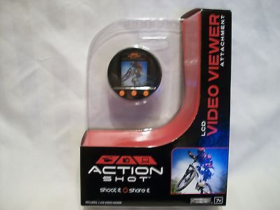 Jakks Pacific Action Shot Digital Camera LCD video viewer attachment 45822 BNIP!