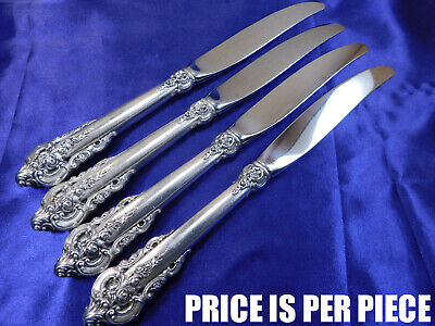 WALLACE GRANDE BAROQUE STERLING SILVER PLACE KNIFE - VERY GOOD -